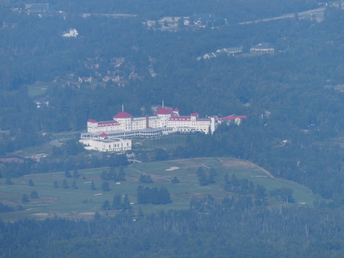 Mt. Washington Hotel from the summit of Eisenhower