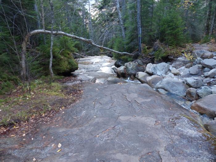 Flume Cascade Brook