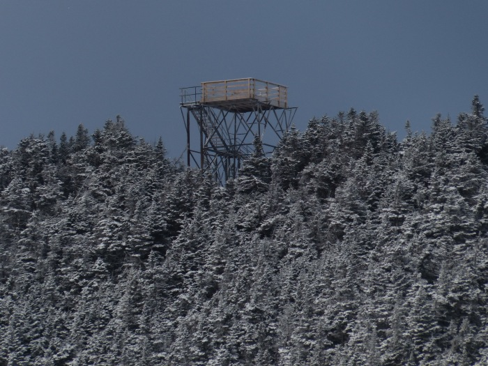 Observation tower on Carrigain