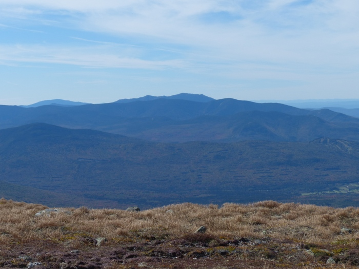 View to the west of the Franconia Ridge